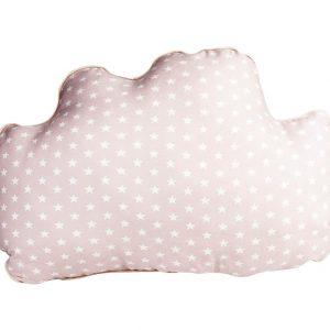 Cojín decorativo con forma de nube