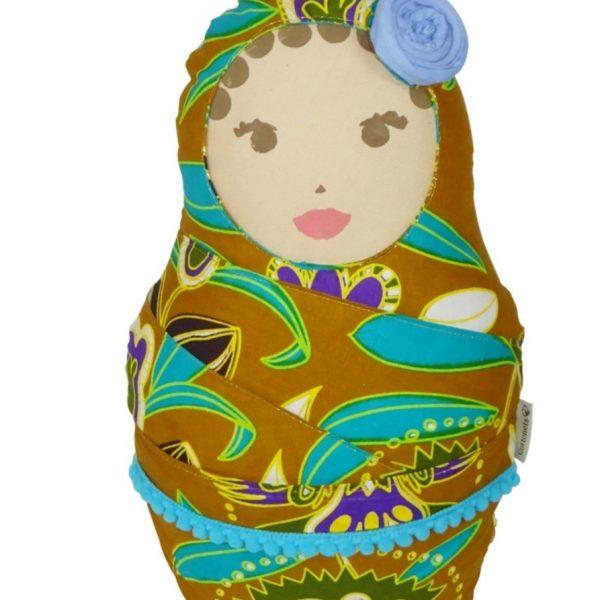 Muñeca decorativa de inspiración africana