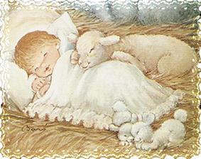 Esta postal es una ilustración de Núria Baró