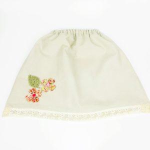 Una falda primaveral para invierno