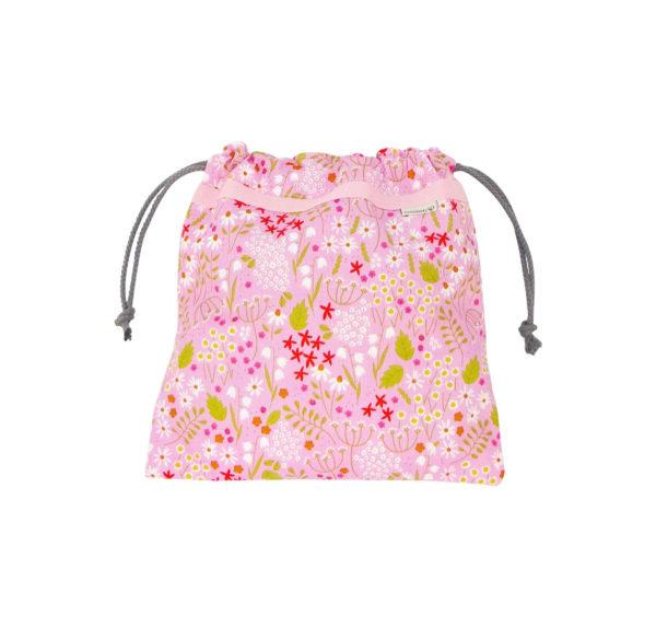 La bolsita de color fresa para niñas que aman el color rosa